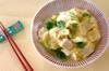 ユリネの甘卵とじの作り方の手順