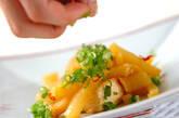 たくあんの炒め物の作り方4