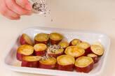 サツマイモのバターセサミの作り方2