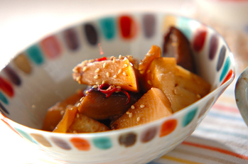 タケノコの中華煮