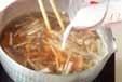 くずし豆腐のとろみ汁の作り方2