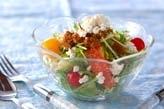 水菜のゴマサラダ