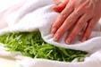 水菜のゴマサラダの作り方6