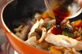 カボチャとキノコの洋風チーズ炒めの作り方3