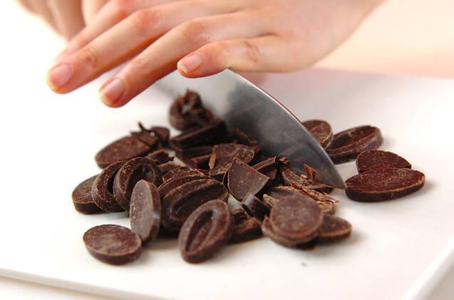 チョコカステラの作り方の手順2