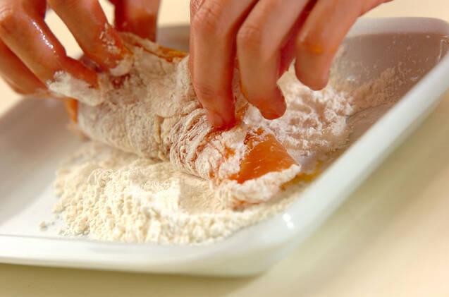 鶏むね肉のやわらかフライドチキンの作り方の手順3