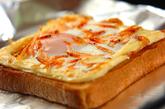 お好み焼き風トーストの作り方3