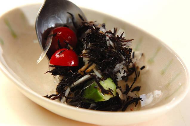 ヒジキとオクラのサラダの作り方の手順8