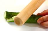 ヒジキとオクラのサラダの下準備4