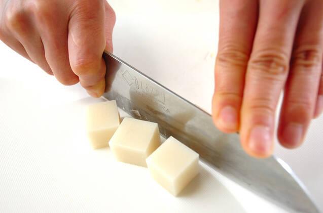 簡単冷豆乳しるこの作り方の手順1