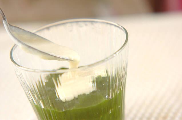 抹茶ゼリー・バニラソースの作り方の手順6