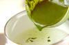 抹茶ゼリー・バニラソースの作り方の手順4