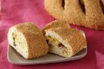 サツマイモと甘納豆のパン