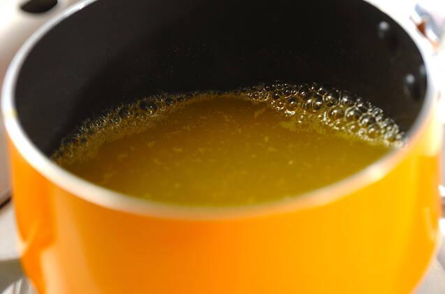 マンゴー寒天の作り方の手順1