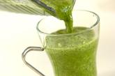 小松菜みかんジュースの作り方1