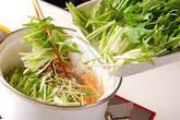 ツナと水菜のサッと煮の作り方5