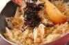 佃煮昆布の和風チャーハンの作り方の手順4