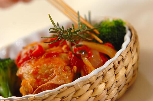 チキンのハーブトマト煮の作り方の手順9