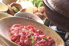 3種のタレで!牛肉のしゃぶしゃぶ鍋