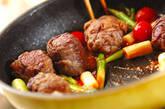 肉巻き豆腐のチリソース炒めの作り方8