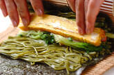 茶そば巻き寿司の作り方7