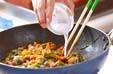 豚キムチオムレツの作り方9