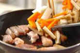 豚肉と根菜の甘辛炒め煮の作り方3