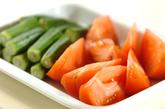 トマトとオクラのスープの作り方1