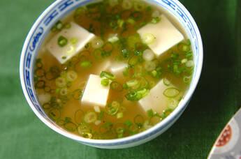 コロコロ大和芋のスープ