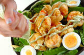 エビフリッターの温サラダの作り方9
