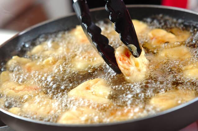 エビフリッターの温サラダの作り方の手順8