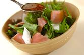 カブのサラダの作り方1