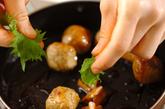 肉団子の照り焼き炒めの作り方2