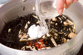 大豆とひじきの煮物の作り方1