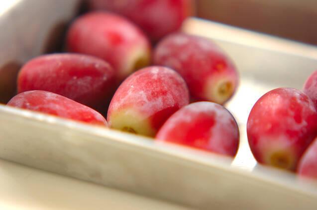 冷やしブドウヨーグルトの作り方の手順1