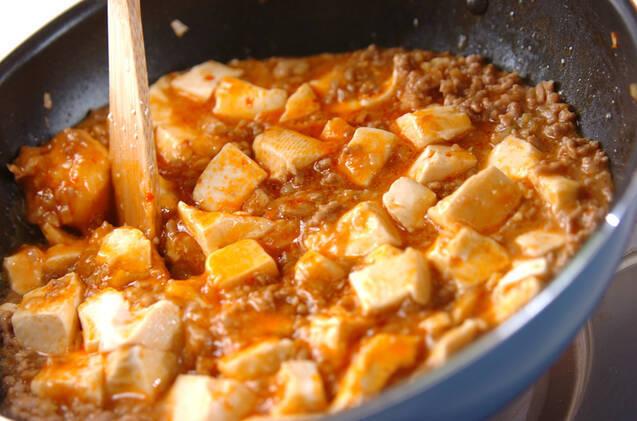 マーボー豆腐の作り方の手順8