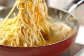 ウニの根菜クリームパスタの作り方6