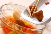 ニンジンとタケノコの煮物の作り方3