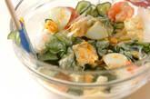 エビとキュウリのサラダの作り方4
