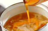 卵のトロミ汁の作り方2
