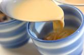 レンジで豆乳茶碗蒸しの作り方2