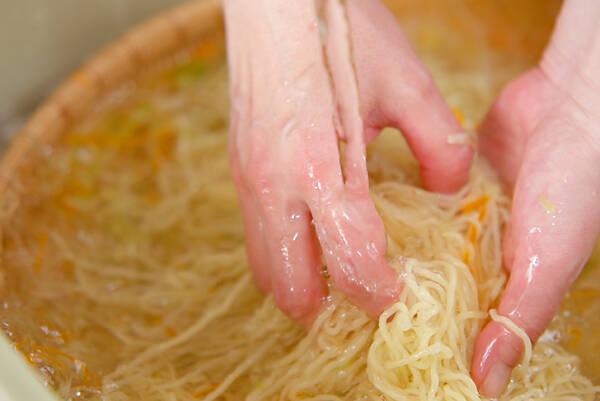具たっぷり冷麺の作り方の手順10