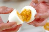 串カツ・ゆで卵とホワイトソースの作り方2