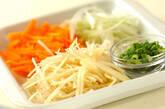 ジャガイモ素麺汁の下準備1
