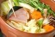 ブリちり鍋の作り方1