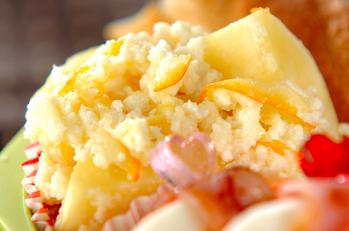 サツマイモのミルクママレード煮