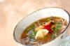 キノコのエスニックスープの作り方の手順