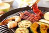 鉄板焼肉の作り方の手順