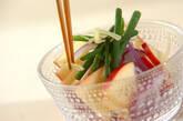 紫玉ネギのサラダの作り方5
