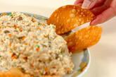 キノコの中華白和えの作り方4